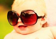 Niemowlak w okularach