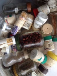 słoiczki z lekarstwami